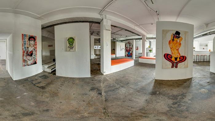 Mittenimwald's exhibition Mundo de los Muertos at OZM Gallery, 2014