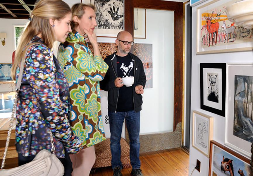 Celebrity art collectors