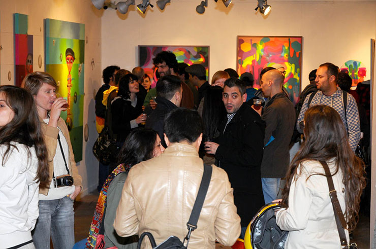 art travel special, barcelona, montana gallery,