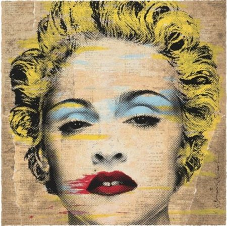Mr. Brainwash-Madonna Celebration For Japan-2014