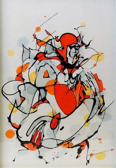 Mr. Jago-Orange Figure-2008