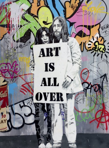 Mr. Brainwash-Art is All Over-2012