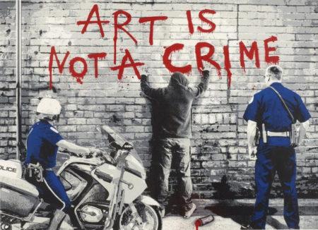 Mr. Brainwash-Art is Not a Crime-2013