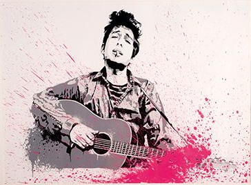 Mr. Brainwash-Bob Dylan-