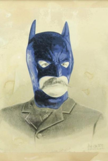 Mr. Brainwash-Bat Papi-