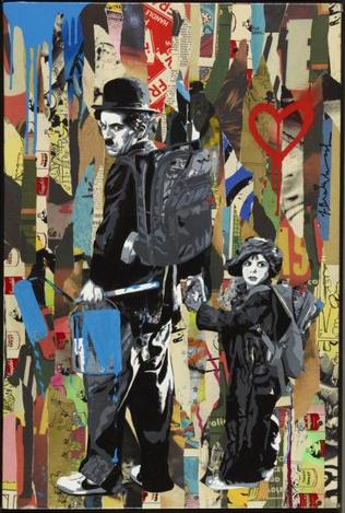 Mr. Brainwash-Chaplin & The Kid-2012