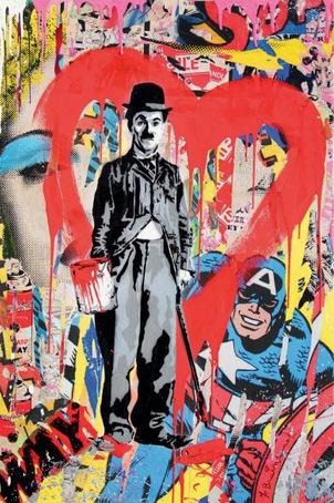 Mr. Brainwash-Charlie Chaplin-2011