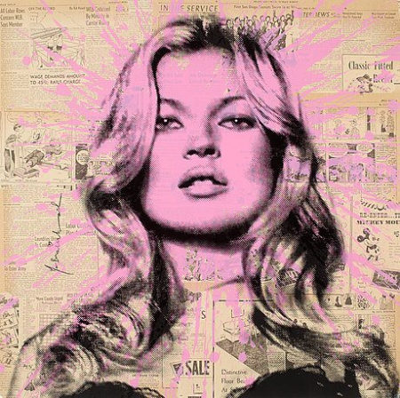 Mr. Brainwash-Cover Girl (Kate Moss)-2011
