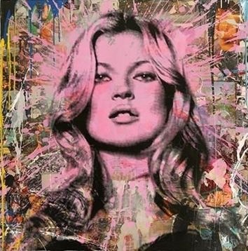 Mr. Brainwash-Cover Girl No.8-2011
