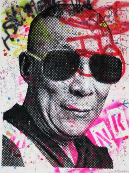 Mr. Brainwash-Dalai Lama-2008
