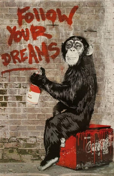 Mr. Brainwash-Follow Your Dream-