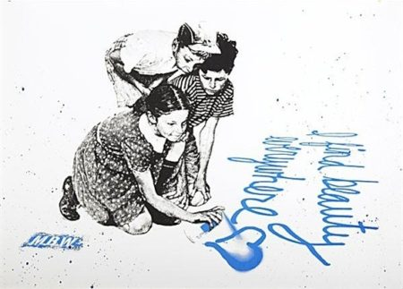 Mr. Brainwash-I Find Beauty Everywhere-