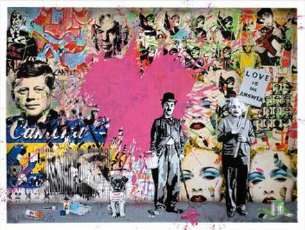 Mr. Brainwash-Juxtapose-2011
