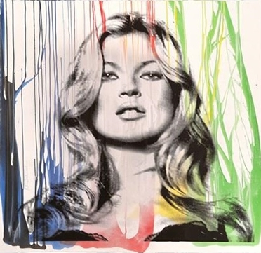 Mr. Brainwash-Kate Moss No.5-2014