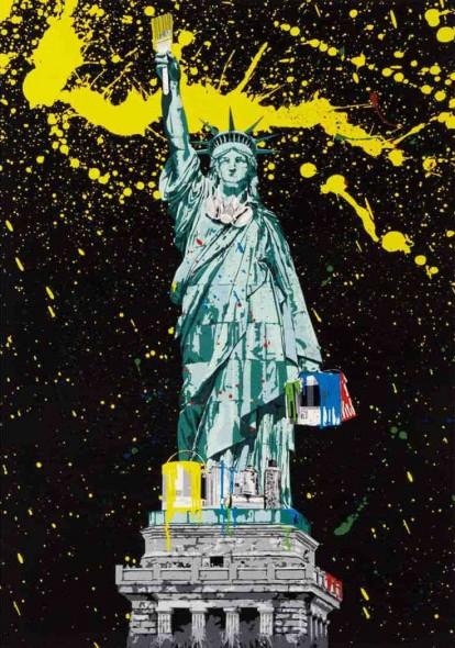 Mr. Brainwash-Liberty-2010