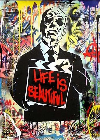 Mr. Brainwash-Life Is Beautiful Hitchcock-2013