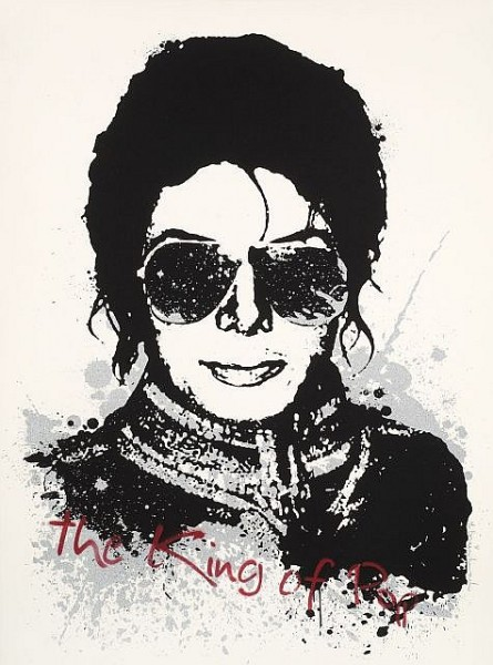Mr. Brainwash-Michael Jackson, The King of Pop-2009