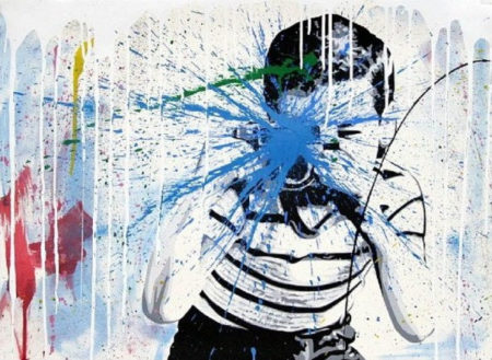 Mr. Brainwash-Smile-