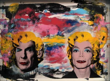Mr. Brainwash-Spock, MJ Marilyn-2009