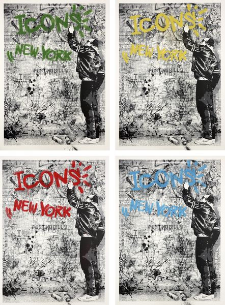 Mr. Brainwash-The Wall-2009