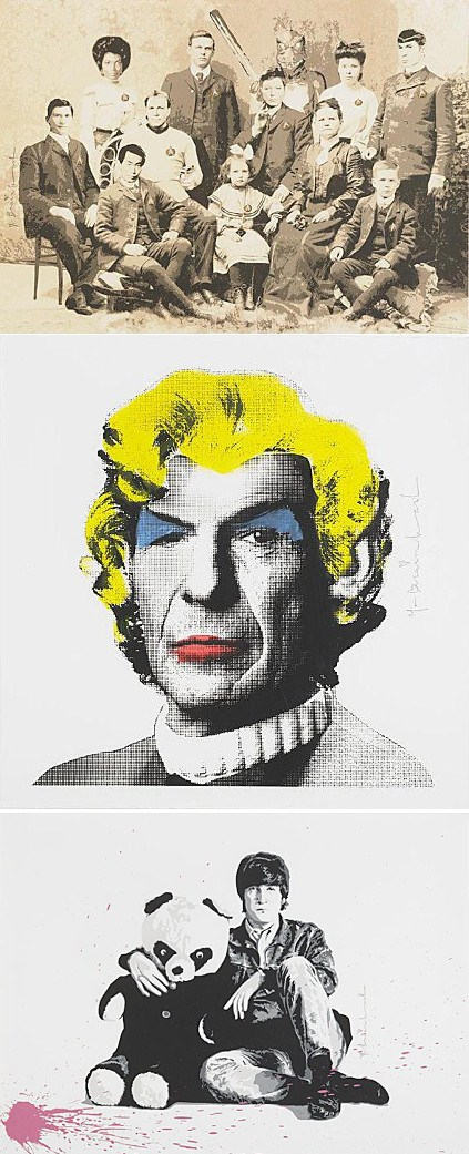 Mr. Brainwash-All you Need is Love, Marilyn Spock, Generation Star Trek-2010