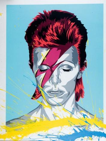 Mr. Brainwash-Ziggy Stardust-