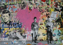 Mr. Brainwash, courtesy of Addicted Art Gallery