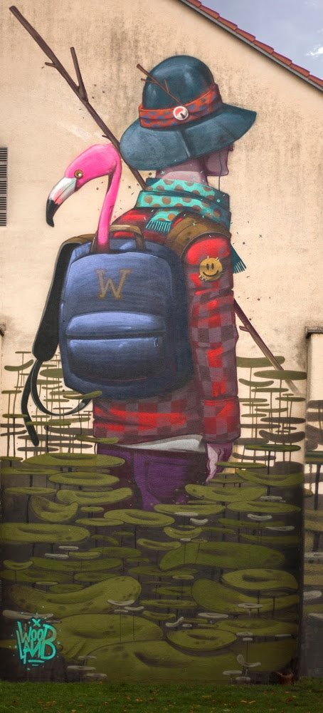 Mr. Woodland - The Explorer - Augsburg, Germany, 2015