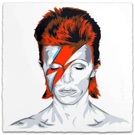 Mr. Brainwash-BOWIE-
