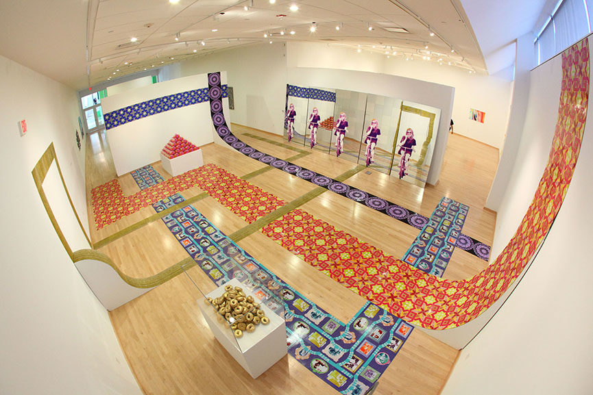 NAPOLEON - Leslie Friedman, Glitzianers, mixed media installation, 2011