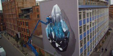 NEVERCREW - work in progress, realizing in 2014, Manchester, UK, 2016, photo by Zane Meyer
