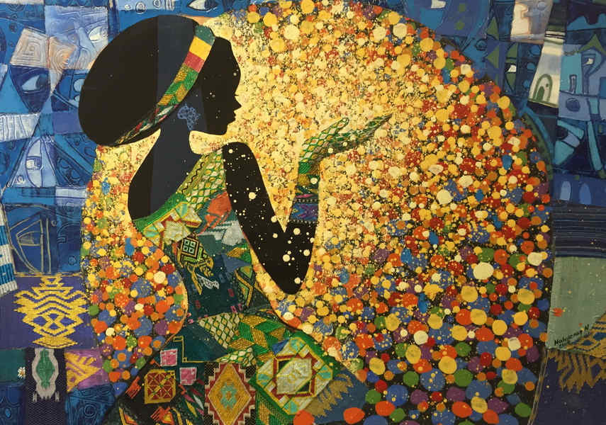 The works of Ethiopian artist are on view on his home page and edited blog