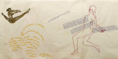 Nancy Spero - Untitled (detail), Image via rachel-and-yoga.blogspot.com