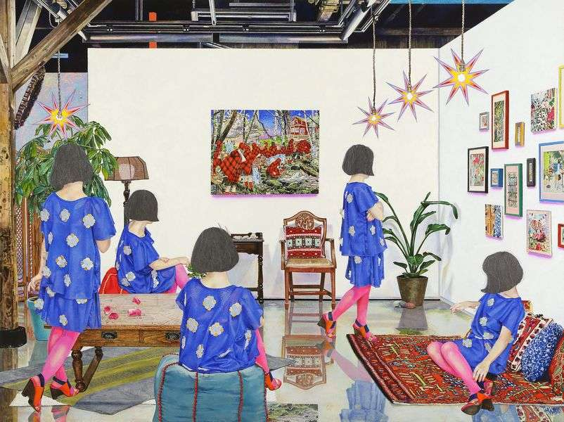 Naomi Okubo - THIS IS NOT MY LIFE #2, 2016