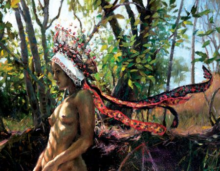 Natalia Fabia Art Creations to Light Up Corey Helford Gallery