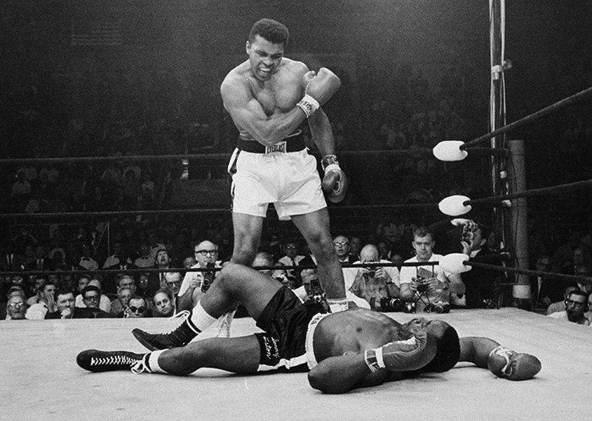 Neil Leifer - Muhammad Ali's Victory - image via slatecom