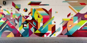 Nelio - Mural (detail), Valencia, Spain, 2013