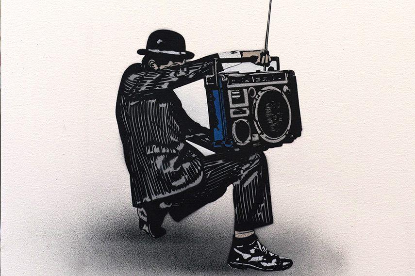 Nick Walker - Boombox Vandal 2 2013 tma edition morning post 2015 vandal print