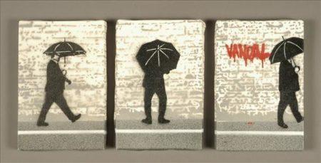 Nick Walker-Vandal Triptych-