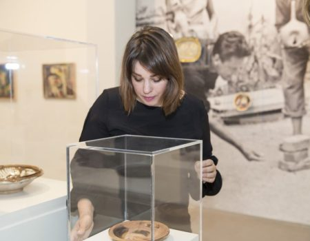 Founder of Young Collectors Circle Nienke van der Wal in an Interview