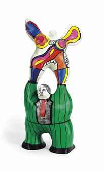 Niki de Saint Phalle-Le Poete et sa muse-1998