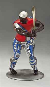 Niki de Saint Phalle-#19 Baseball Player-1999