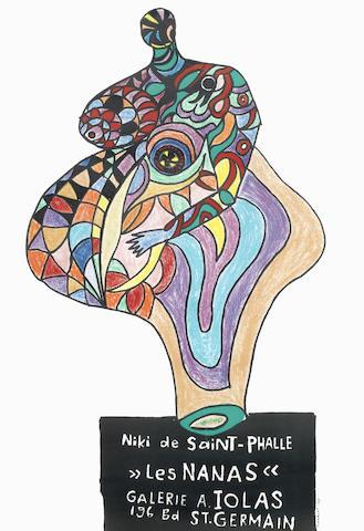 Niki de Saint Phalle-Les Nanas (Galerie A. Iolas)-1965