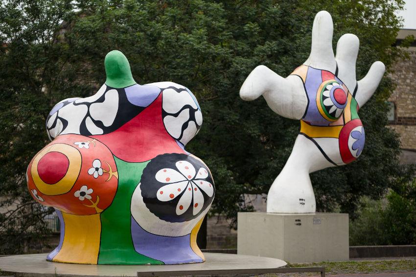 Niki de Saint Phalle colorful works are amazing
