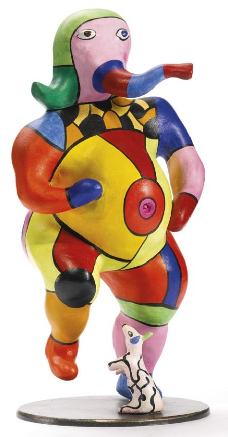 Niki de Saint Phalle-Petite Ganesh-1997
