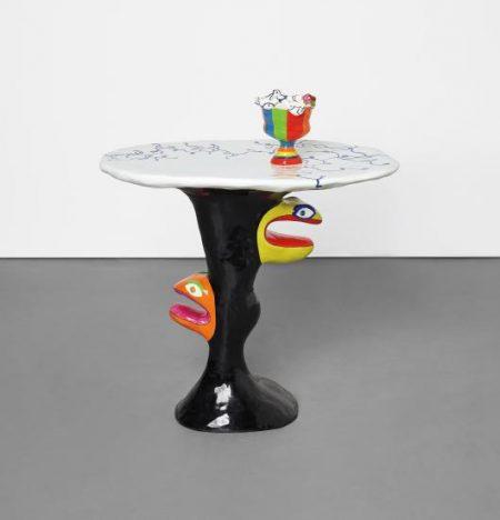 Niki de Saint Phalle-Table Serpent-1980