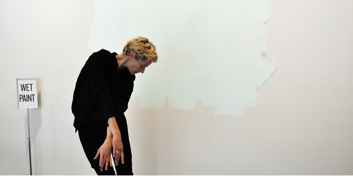 Nina Beier - The Complete Works, photo by Muriel Maffre, 2010, at YBCA, photo credits - gg-art