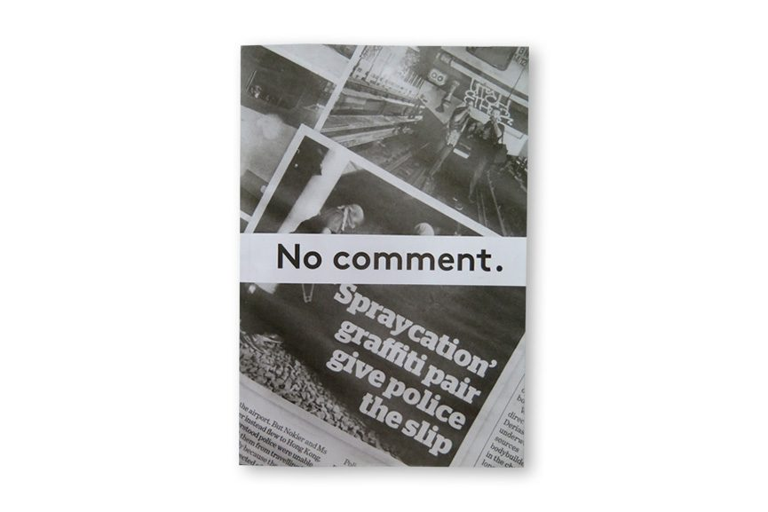No Comment zine