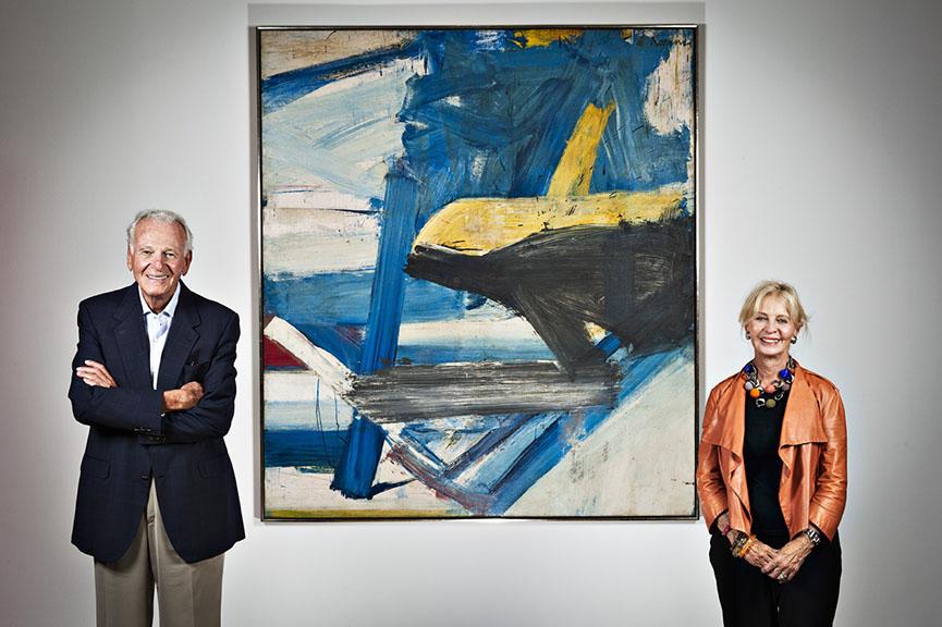 billionaire art patrons