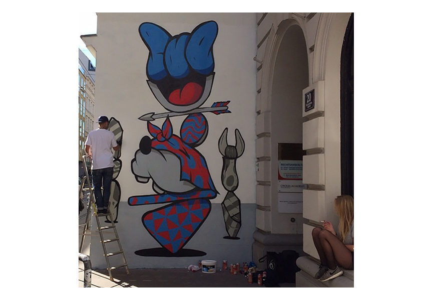 Mural in Vienna